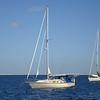 Hello World anchored in Bahia Santa Maria