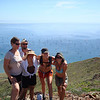 Kim, Jason, Christy, Sarah and Kristin at the top