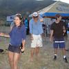 dancing at the party in Bahia Santa Maria