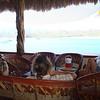 chillin' at the palapa bar