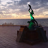 one of the many statues along the Malecon