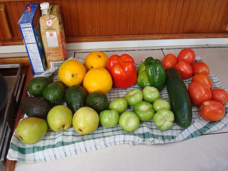 we LOVE Mexican produce, especially tomatillas!