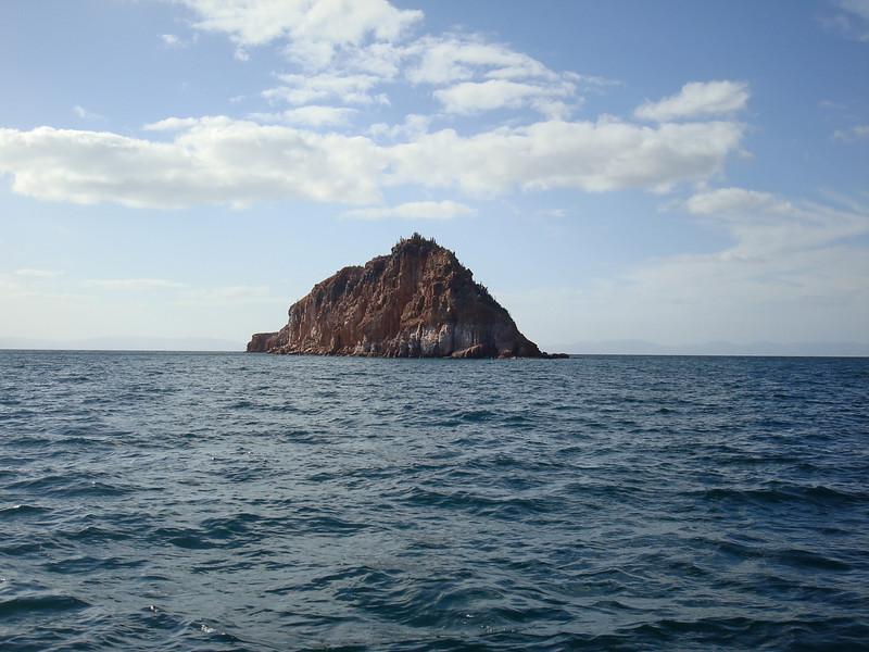 Isla Gallina right outside of Puerto Ballena