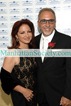 NEW YORK-MAY 9: Singer Gloria Estefan and Ellis Island Medal of Honor honoree Emilio Estefan Jr. attend  23rd Annual Ellis Island Medals of Honor - Press Reception on Saturday, May 9, 2009 at The Ritz Carlton New York in Battery Park, 2 West Street,  New York, NY  (Photo Credit: ©ManhattanSociety.com by Christopher London)