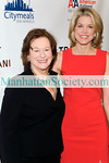 New York-November 20: Marcia Stein, Paula Zahn attend  23rd Annual POWER LUNCH FOR WOMEN Benefiting Citymeals-On-Wheels on Thursday, November 20, 2009 at Cipriani 42nd Street, 110 East 42nd Street, New York City, NY. (PHOTO CREDIT:Copyright ©Manhattan Society.com 2009 by Christopher London)