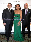 NEW YORK-MARCH 12: William Lauder, CEO of Este Lauder, Vanessa Williams and  Richard D. Beckman, President, Condé Nast Media Group attend  34th Annual March of Dimes® Beauty Ball® at Cipriani 42nd Street, 110 East 42nd Street, New York City, NY on Thursday, March 12, 2009  (Photo Credit: Christopher London/ManhattanSociety.com)