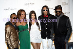 NEW YORK-MARCH 12: apl.de.ap, Fergie, Taboo and Will.i.am of the Black Eyed Peas with Vanessa Williams at 34th Annual March of Dimes® Beauty Ball® at Cipriani 42nd Street, 110 East 42nd Street, New York City, NY on Thursday, March 12, 2009  (Photo Credit: Christopher London/ManhattanSociety.com)