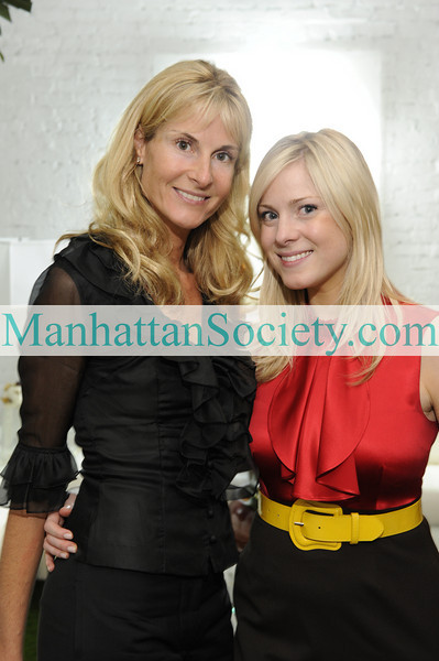 NEW YORK-MARCH 31:  Marianna Olszewski Rounick, Theresa Olszewski  attend A.C.E. For The Homeless 2009 Gala Kick Off Party on Tuesday, March 31, 2009 at the SOHO Residence of Philanthropist Henry Buhl, New York City, NY (Photo Credit: Gregory Partanio/ManhattanSociety.com)