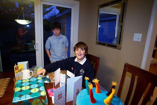 Adam's 12th Birthday