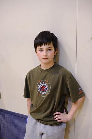 Adam's First Basketball Match