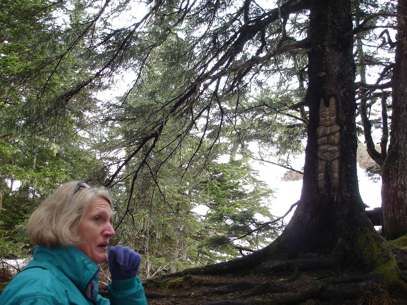 maybe cut me out of the pic and just show the tree--great shot!