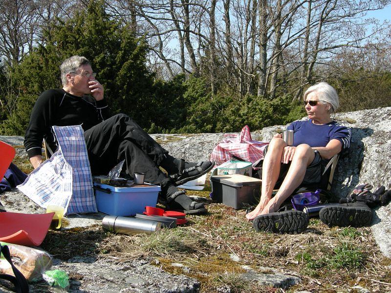 Roffe och Kerstin   Foto Ewa