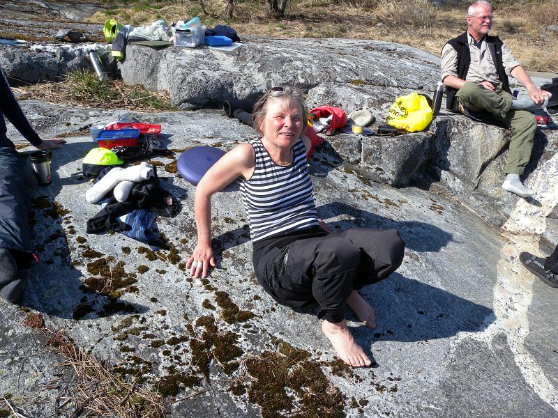Eva-Lena och Lars i bakrunden Foto Anita