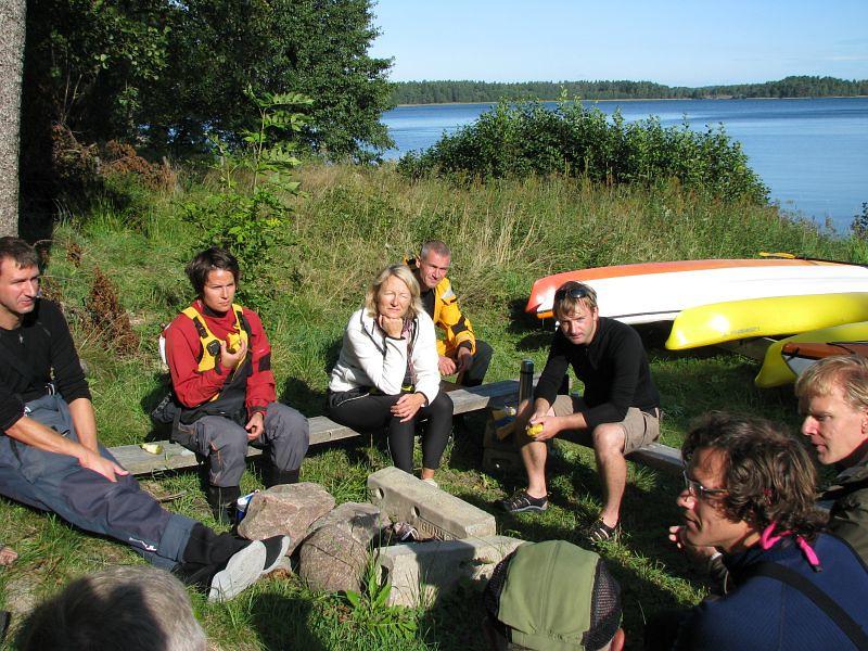 P-O, Ulrica, Åse, Ulf NIL, Anders, Johan och Arvid