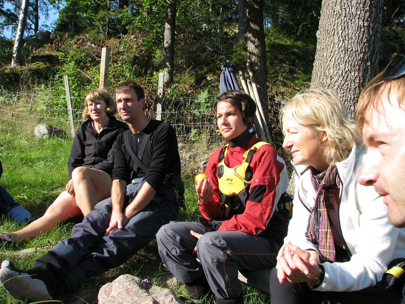 Alice, P-O, Ulrica, Åse, Anders
