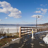 Promenade, north of Croton Point
