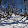 Appalachian Trail, under snow
