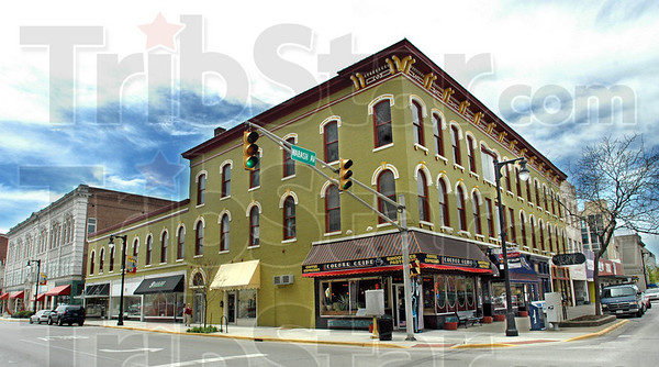 Award winner: The Kaufman Block won a Downtown Terre Haute Heritage Award Thursday.