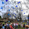 Off they go: Bridges of Indiana held it's 1st annual balloon sendoff marking World Autism Day. The launch was held at Deming Park.