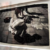 "Street Artist: A Andy Wahrol photograph titled ""Street Artist"" hangs in The Land of Misfit Toys gallery."