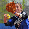 Nine more: Darcy Woods aded to her strikeout total, fanning nine Evansville batters Sunday afternoon.