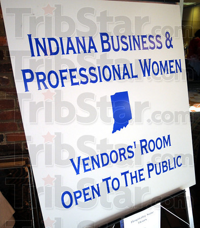 BPW: Detail of sign for vendor's room.