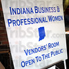 BPW: Detail of sign for vendor's room.