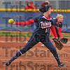 Smooth delivery: Terre Haute North's Brittney Isom hurls a pitch against Turkey Run Wednesday evening.