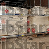 Tribune-Star/Joseph C. Garza<br /> Labeled: Toxic: Boxes labeled Ortho Dibrom Fly and Mosquito Spray wait to be transported from the Wabash Environmental Technologies building Tuesday off of First Street.