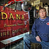 Fire: Dana fire department assistant chief Jeff Knopp was one of scores of area firefighters to battle the Dana blaze just after midnight Monday.