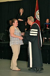Academic awards presented to students during Dimensions ceremony; April 28, 2009