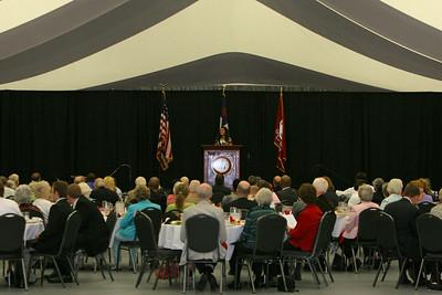 CSO Dinner in the Paul Porter Arena; April 23, 2009.