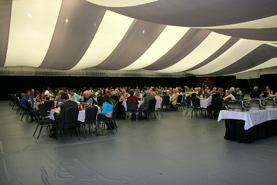 CSO Dinner in the Paul Porter Arena; April 23, 2009.