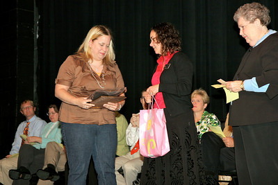 Service Awards presented during Dimensions in the Dover Theater; April 21, 2009.