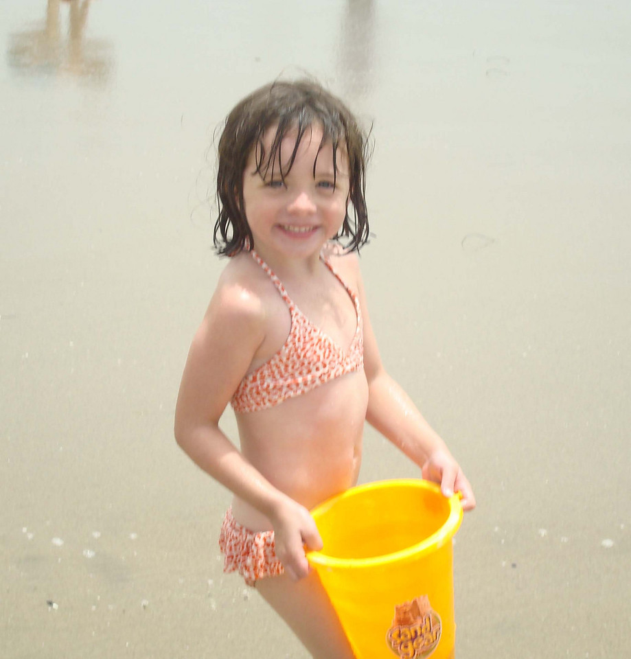 Sophie and the sand...
