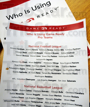Detail photo: Who is using Game Ready