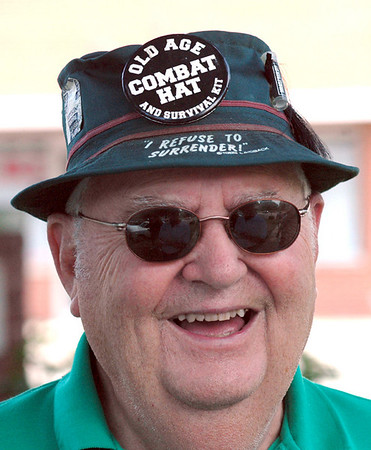 Touring: Harold Stout of Paoli, Indiana is a participant in the 2009 Grand Indiana Auto Tour.