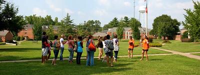 Freshman Orientation; August 14, 2009.