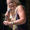 MC: Kristi Lee of the Bob & Tom Show hosted the show Friday night at the Indiana Theater.