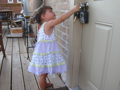 Mia Picking the Lock