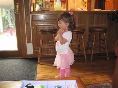 Prima Ballerina Mia with New Tutu