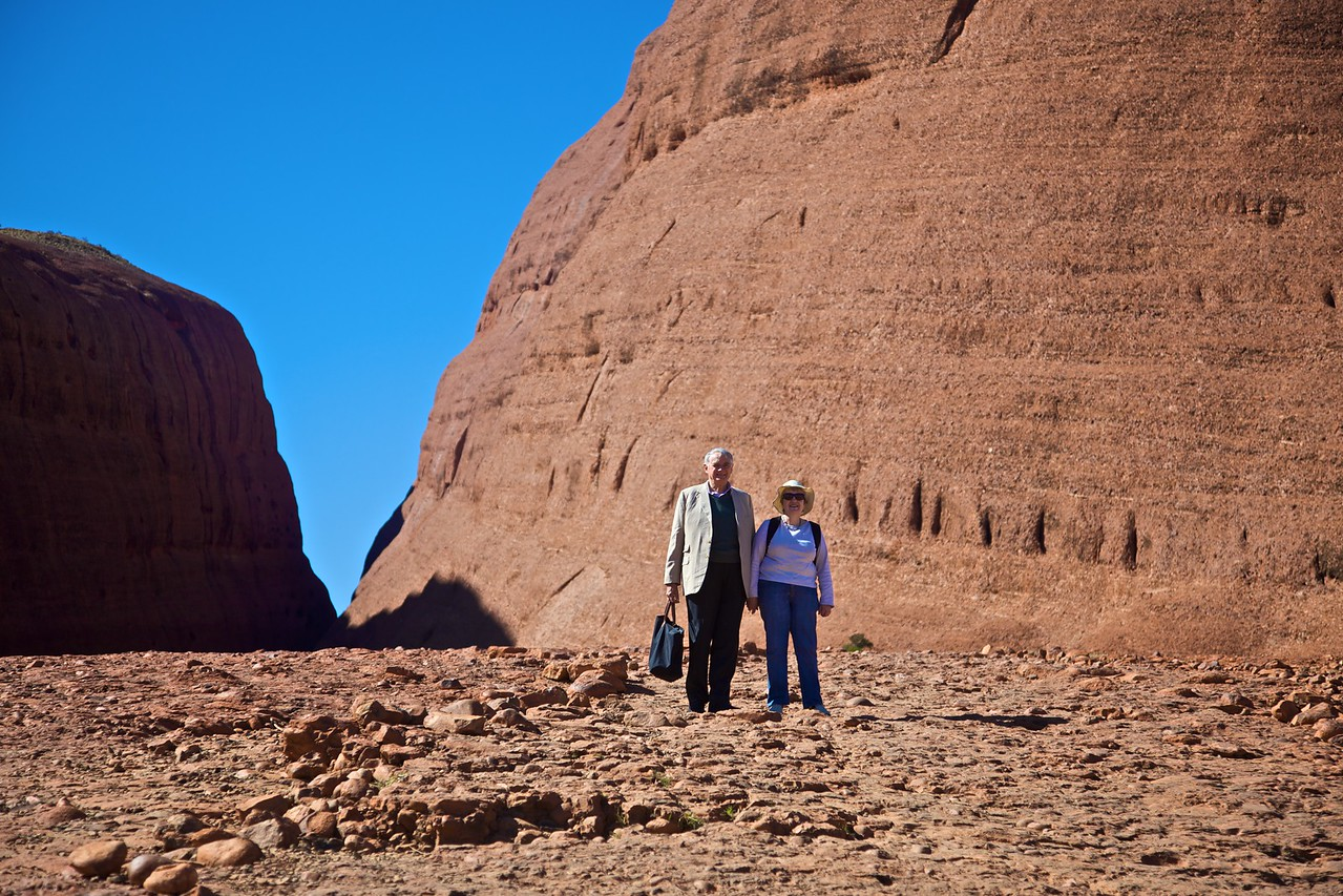 At the Olgas.