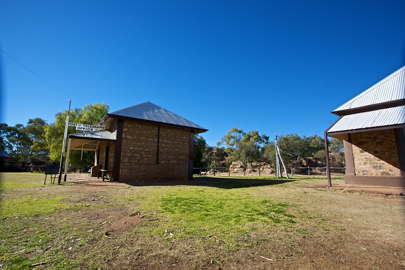 The old Telegraph Station, just north of Alice Springs.