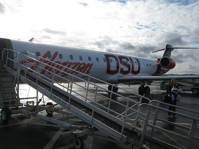 OSU plane on Horizon