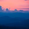 Sunset seen from the Ambua Lodge.