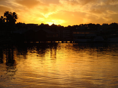 Swan River sunset