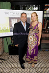 NEW YORK-JUNE 30: John Mahdessian, Monica Knoll attend BIG TOP AT THE BOWERY to Benefit Cancer 101 on Tuesday, June 30, 2009 at Bowery Terrace at the Bowery Hotel, 335 Bowery, New York City, NY (Photo Credit: ManhattanSociety.com by Gregory Partanio)