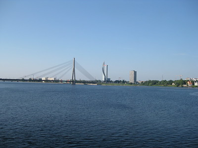 Spectacular bridge at Riga, Latvia - Lydia Osborne