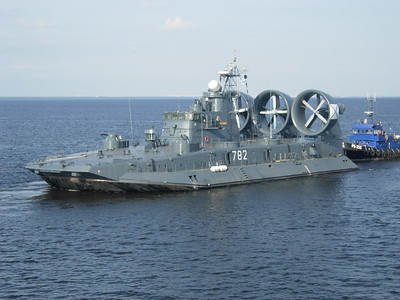 Naval hovercraft also leaving St Petersburg -- David Chambliss