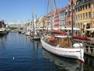 Nyhavn in Copenhagen -- David Chambliss